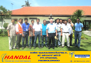 IOSH-Training Indonesia, PT. IPMOMI (Paiton)