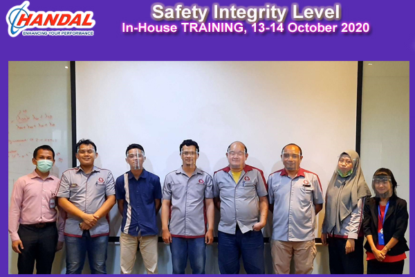 Safety Integrity Level Training In-House Training 2020