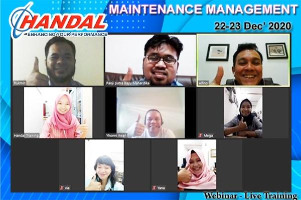 Maintenance Management Webinar
