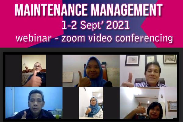 Maintenance Management September 2021